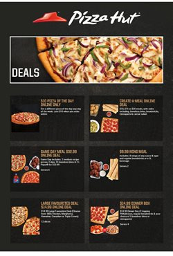 Pizza Hut deals in the Gatineau flyer