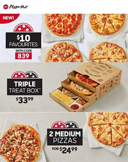 Restaurants offers in the Pizza Hut catalogue in Newcastle ( 4 days left )