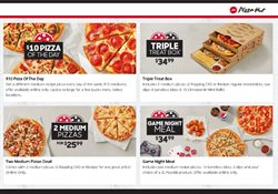 Restaurants offers in the Pizza Hut catalogue ( 22 days left )