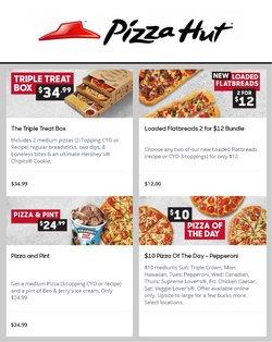 Restaurants deals in the Pizza Hut catalogue ( 14 days left)