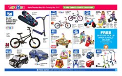 Toys R us deals in the Vancouver flyer