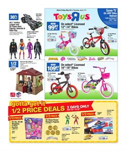 Kids, Toys & Babies offers in the Toys R us catalogue in Calgary