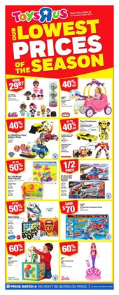 Kids, Toys & Babies offers in the Toys R us catalogue in Toronto