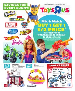 Kids, Toys & Babies offers in the Toys R us catalogue in Gatineau