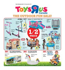 Kids, Toys & Babies offers in the Toys R us catalogue in Montreal