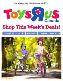 Kids, Toys & Babies offers in the Toys R us catalogue in Drummondville