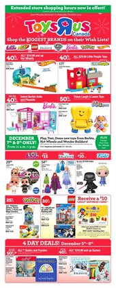 Kids, Toys & Babies offers in the Toys R us catalogue in Kitchener