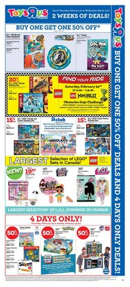 Toys R us catalogue ( 7 days left )