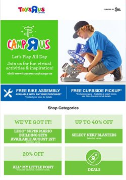 Toys R us catalogue in Montreal ( Expires today )