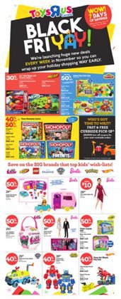 Kids, Toys & Babies offers in the Toys R us catalogue in Toronto ( Expires today )