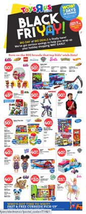 Kids, Toys & Babies offers in the Toys R us catalogue in Victoria BC ( Expires tomorrow )