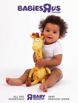 Kids, Toys & Babies deals in the Toys R us catalogue ( More than a month)