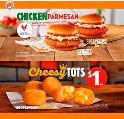 Restaurants offers in the Burger King catalogue in Drummondville