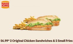 Restaurants offers in the Burger King catalogue ( 6 days left )