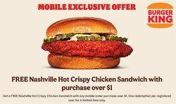 Restaurants deals in the Burger King catalogue ( Expires tomorrow)