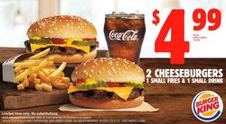 Burger King deals in the Edmonton flyer