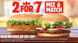 Burger King deals in the Winnipeg flyer