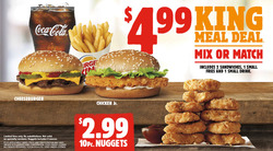 Restaurants offers in the Burger King catalogue in Prince George