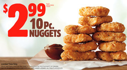 Restaurants offers in the Burger King catalogue in Kanata