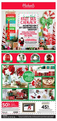 Home & furniture offers in the Michaels catalogue in Gatineau