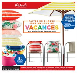 Home & furniture offers in the Michaels catalogue in Montreal