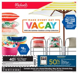 Michaels deals in the Ottawa flyer