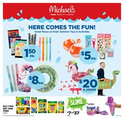 Michaels deals in the Chatham-Kent flyer