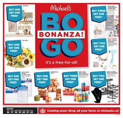Home & Furniture offers in the Michaels catalogue in Truro