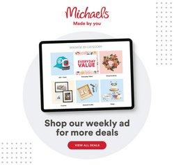 Michaels catalogue ( 7 days left)