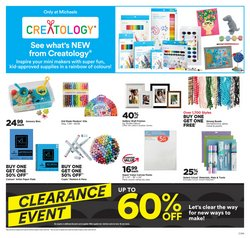 Home & Furniture deals in the Michaels catalogue ( 6 days left)