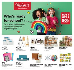 Home & Furniture deals in the Michaels catalogue ( 4 days left)