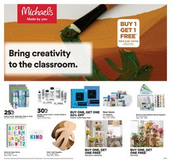 Michaels catalogue ( Expires today)