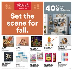 Michaels deals in the Michaels catalogue ( Expired)