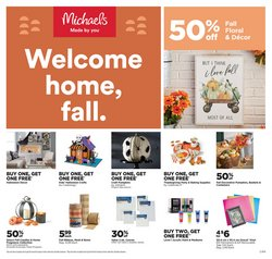 Michaels catalogue ( 3 days left)