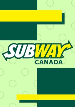 Subway deals in the Vancouver flyer