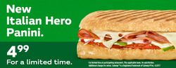 Subway deals in the Montreal flyer