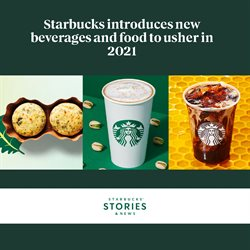 Restaurants offers in the Starbucks catalogue in Toronto ( More than a month )
