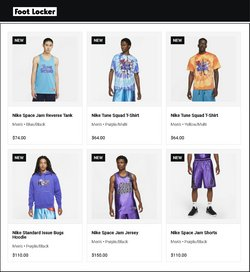 Nike deals in the Foot Locker catalogue ( 3 days left)