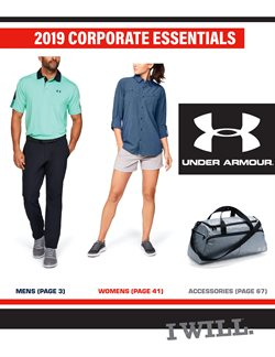 Under Armour deals in the Toronto flyer