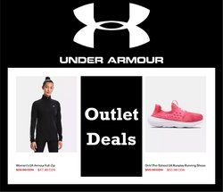 Under Armour catalogue ( More than a month)