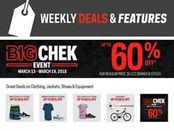 Sport offers in the Sport Chek catalogue in Gatineau