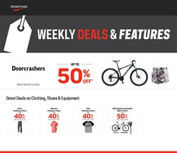 Sport Chek deals in the Vancouver flyer