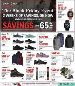 Sport Chek catalogue ( 3 days ago )