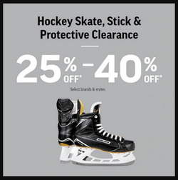 Sport Chek deals in the Chatham-Kent flyer