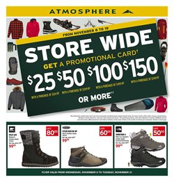 Atmosphere deals in the Vancouver flyer