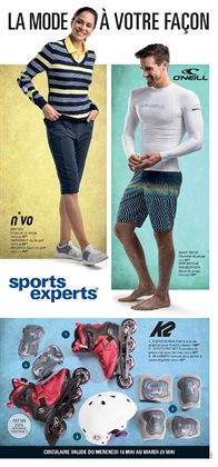Sports Experts deals in the Montreal flyer