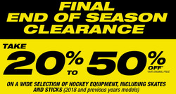 Hockey Experts deals in the Montreal flyer