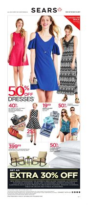 Sears deals in the Gatineau flyer