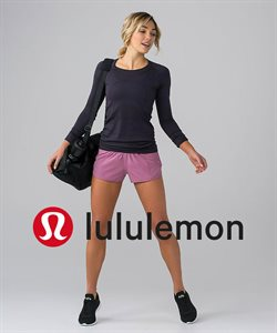Lululemon deals in the Quebec flyer