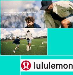 Lululemon deals in the Lululemon catalogue ( Expired)
